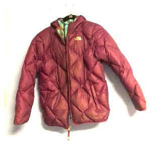 Adorable Reversible Girl's North Face Jacket